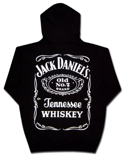 (Jack Daniels Hooded Sweatshirt Logo Hoodie-4xl)