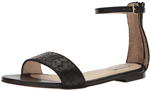 Sandal Women Genevieve Haan Cole Dress Weave Black w5XT7q4