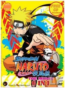 Amazon.com: Shippuden Naruto The Movie Collection (6 movies ...