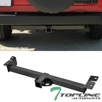 Topline-Autopart-Class-3-III-Trailer-Towing-Hitch-Mount-Receiver-Rear-Bumper-Utility-Tow-Kit-2-For-97-06-Jeep-Wrangler-TJ-SUV-AWD