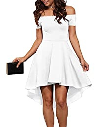 Amazon.com: White - Dresses / Clothing: Clothing, Shoes & Jewelry