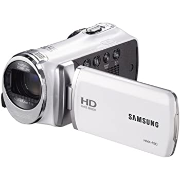 "Samsung F90 White Camcorder with 2.7"" LCD Screen and HD Video Recording (Discontinued by Manufacturer)"