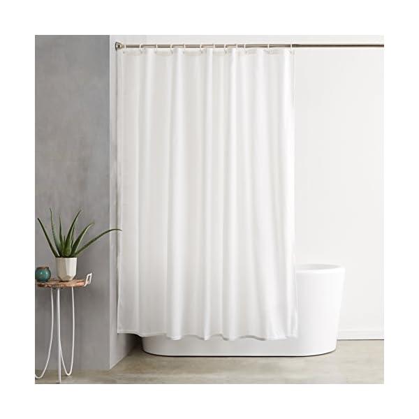 Duschvorhang im Bad