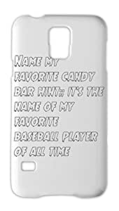 Name my favorite candy bar hint:: it's the name of my Samsung Galaxy S5 Plastic Case