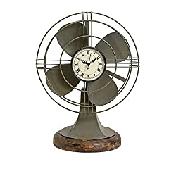 IMAX 84143 Thatcher Vintage Fan Clock