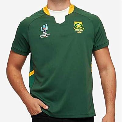CBsports Equipo Sudáfrica, Springboks,Copa Mundial,Rugby Jersey ...