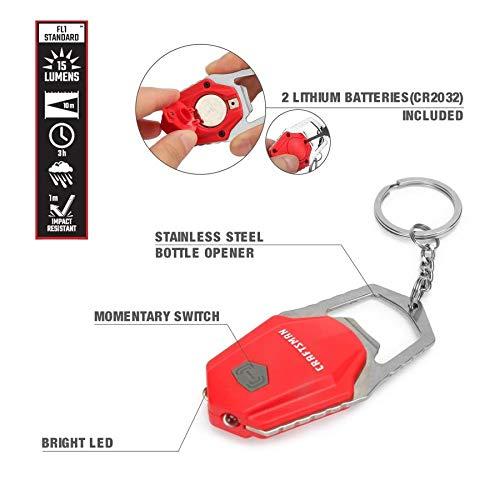 Craftsman Red Keychain
