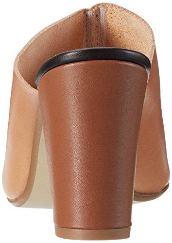 GARDENIA COPENHAGEN Slippers On Heel, Pantofole Donna Marrone (Vaquetta Tan)
