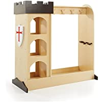 Guidecraft Childrens Castle Dramatic Play Storage Center - Armoire, Dresser Kids Furniture
