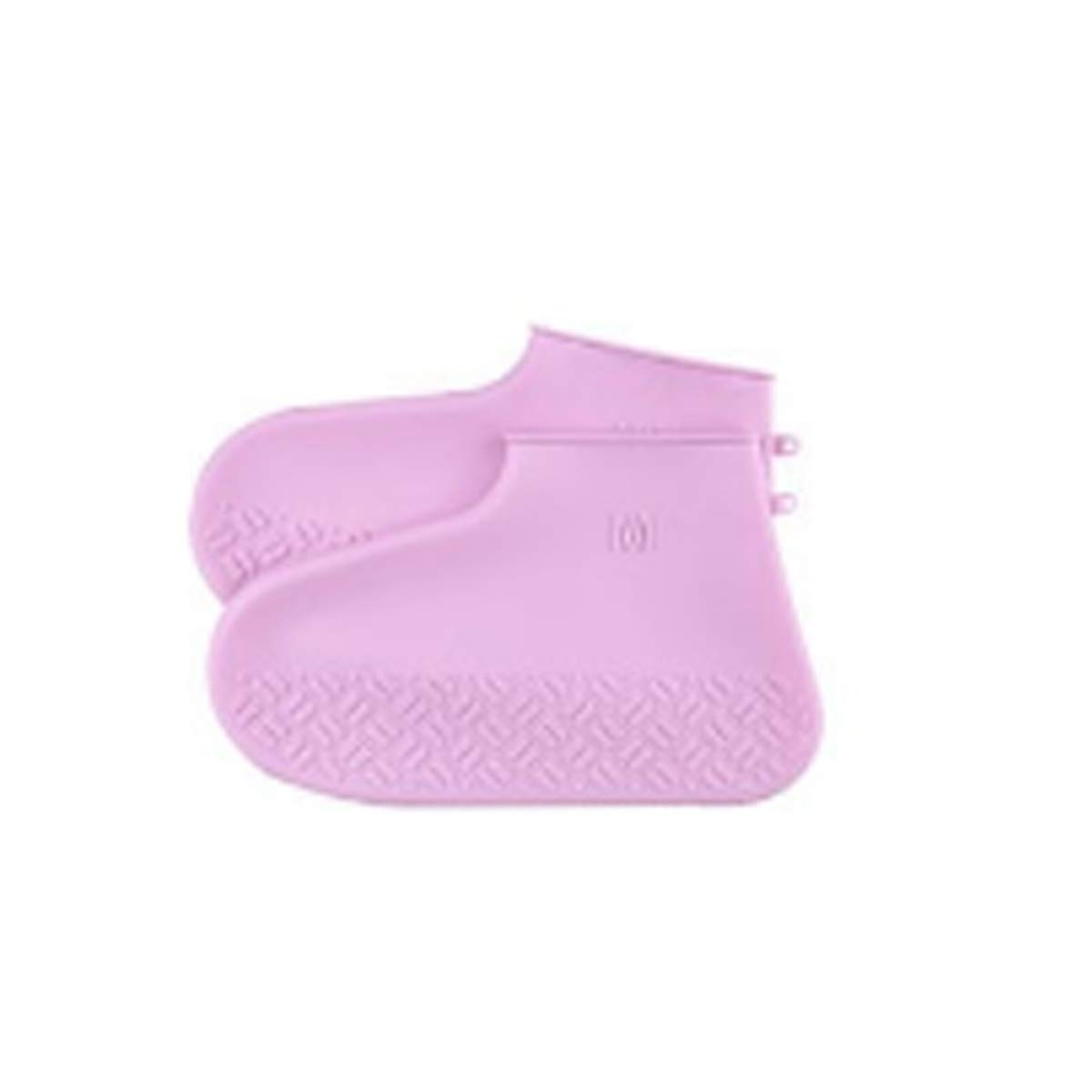 KAIYITONG Rainproof Shoe Cover, Waterproof And Rainproof Shoes, Silicone Shoe Covers, Non-slip Wear-resistant Bottom, Adult Rainy Days, Men And Women, Silicone, Rain, Snow, Anti-mud, Pink S, M, L, mul by KAIYITONG