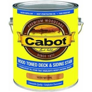 CABOT SAMUEL 19200-07 GAL NAT WD Deck Stain