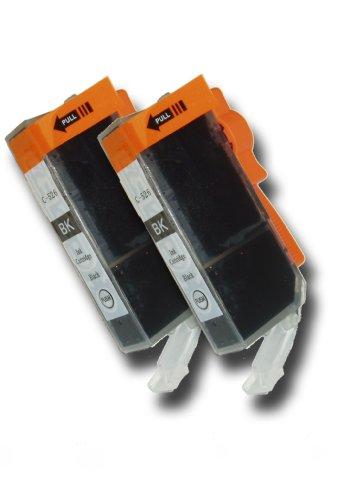 2 Chipped Black Compatible Canon Pixma CLI-526bk Black Ink Cartridges for Canon Pixma MG5150 Printer