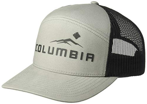 Columbia Men's Trail Evolution II Snap Back Hat, Boulder, Black Weld, One Size
