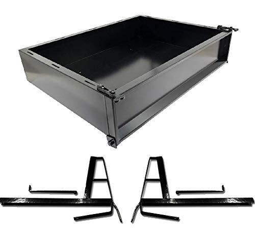 Club Car DS (2000.5-Up) Golf Cart Cargo Box Kit -