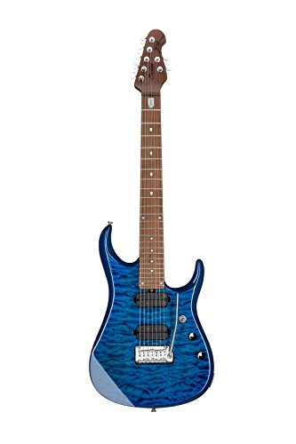 Sterling By MusicMan 7 String Sterling by Music Man John Petrucci Signature Guitar, JP157, Neptune Blue, JP157-NBL)