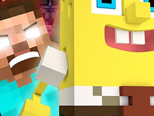 Clip: Herobrine vs SpongeBob - Psycho Girl