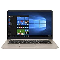 "Asus Vivobook S510UR-BR309T Notebook, LCD 15.6"", i5-8250U, RAM 8 GB, HDD 1 T, nVidia GeForce Gt 930Mx, Oro/Metallo [Layout Italiano]"