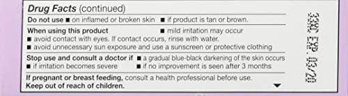 BLACK and WHITE BLEACH CREAM 3/4oz
