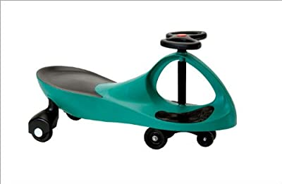 Mighty Green Rolling Coaster KMS157301 the Wiggling Wiggle Race Car Premium Scooter