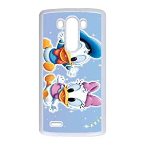 LG G3 Cell Phone Case White Donald Duck FOV Camo Cell Phone Covers