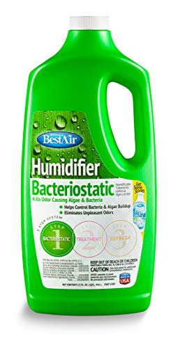 BestAir 3BT, Original BT Humidifier Bacteriostatic Water Treatment, 32 oz, 6 pack -