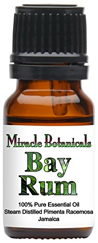 Miracle Botanicals Bay Rum Essential Oil   100  Pure Pimenta Racemosa   10Ml Or 30Ml Sizes   Therapeutic Grade   10Ml