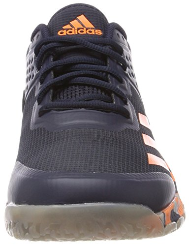 adidas Herren Crazyflight Bounce Volleyballschuhe Blau (Legend Ink/Hi-Res Orange/Grey Two)