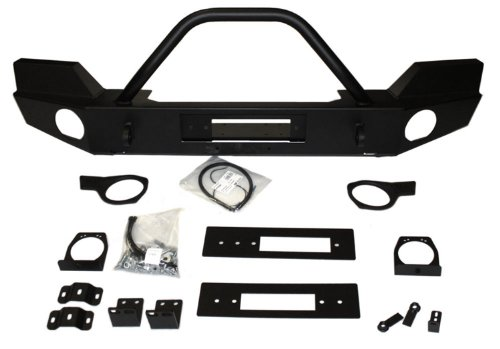 - WARN 87750 Elite Series Front Bumper with Grill Guard Tube