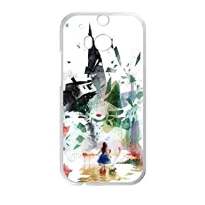 HTC One M8 Phone Case Cover White Not in Kansas Anymore EUA15965430 Design Plastic Phone Case