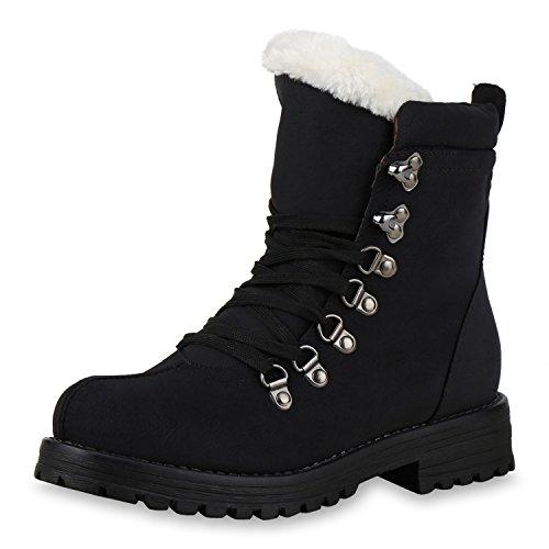 Best-boots - Botas para mujer Schwarz Weiss Nuovo