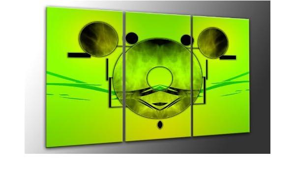 Top imagen sobre lienzo MODERN Neon Style 3 piezas Digital ...