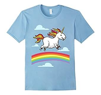 funny unicorn dancing on rainbows gay lesbian. Black Bedroom Furniture Sets. Home Design Ideas