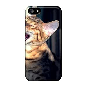 Durable Cat Back Cases/covers For Iphone 5/5s