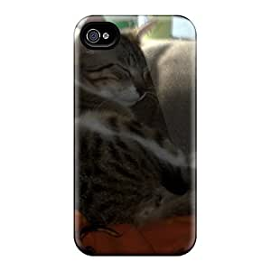 First-class Case Cover For Iphone 4/4s Dual Protection Cover Isabelamber's Tabby Howie