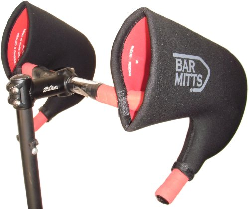(Bar Mitts Cold Weather Road Bicycle Handlebar Mittens fits Campy/SRAM/Shimano Shifters with Internally Routed Cables,)