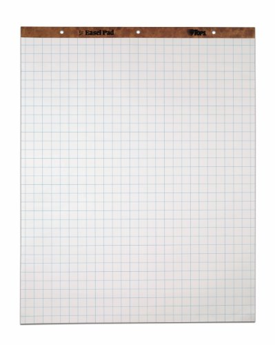 tops-standard-easel-pads-3-hole-punched-27-x-34-inch-1-grid-white-50-sheets-pad-carton-of-4-pads-790