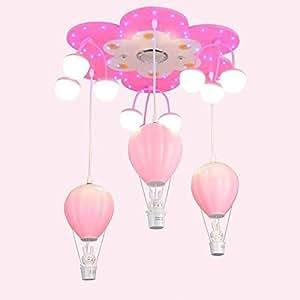 Ara a de luces l mpara colgante creativa moderna de dibujos animados iluminaci n habitaci n - Lampara arana moderna ...