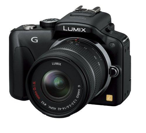 Panasonic ミラーレス一眼カメラ LUMIX G3 レンズキット エスプリブラック DMC-G3K-K