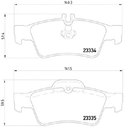 Mintex MDB2587 Brake Pad Set