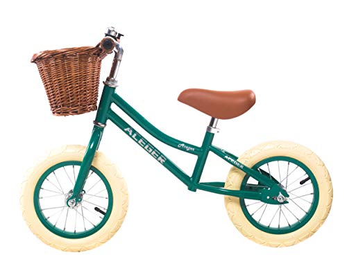 ACEGER Balance Bike for Kids Lightweight with Basket, Ages 2 to 5 Years(Green) ()