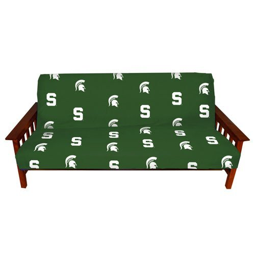 Super College Covers Michigan State Spartans Futon Cover Full Andrewgaddart Wooden Chair Designs For Living Room Andrewgaddartcom