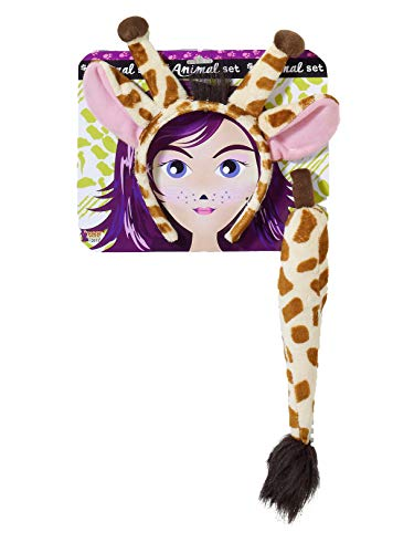 Forum Novelties Playful Animals Giraffe Costume Accessory Set, Multi, One size]()