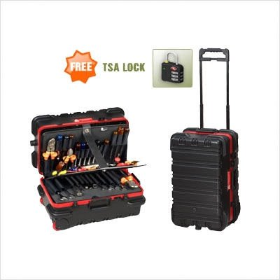 Chicago Case 95-8581 Slim Line Military-Style Wheeled Tool Case by Chicago Case