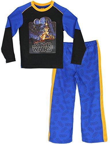 Star Wars Jungen Schlafanzug Darth Vader Pyjamas 152