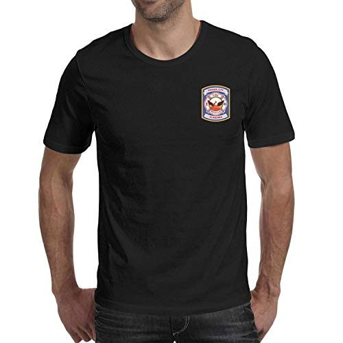 DXQIANG Phenix City, Alabama Fire Rescue Design Men's Vintage T-Shirts Comfort Soft Tee Tops