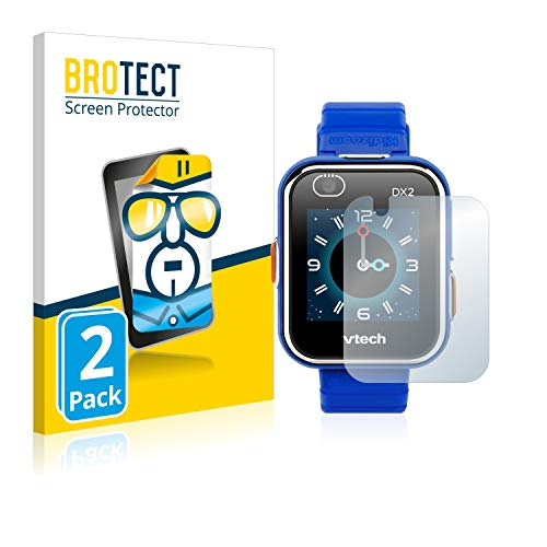 brotect 2-Pack Screen Protector compatible with Vtech Kidizoom Smart Watch DX2 – HD-Clear Protection Film
