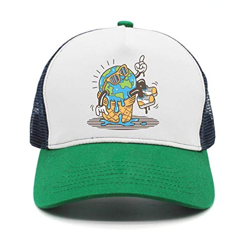 srygjukuu Unisex Stop Global Warming Caps Vintage Visor Hats