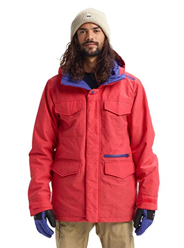 - Burton Men's Men's Covert Jacket, Flame Scarlet Ripstop, X-Large