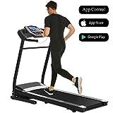 Aceshin Electric Support Motorized Power Treadmill Portable Folding Treadmills Walking Machine Fitness Trainer Equipment (US Stock)