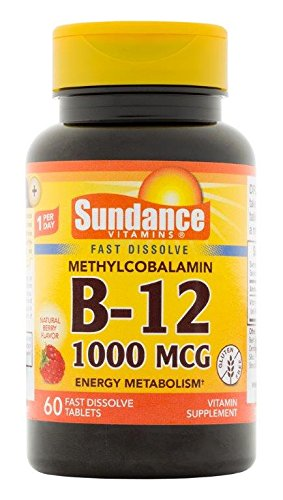 Sundance Mthyl 1000 Mcg Vitamin B12 Supplement  60 Count